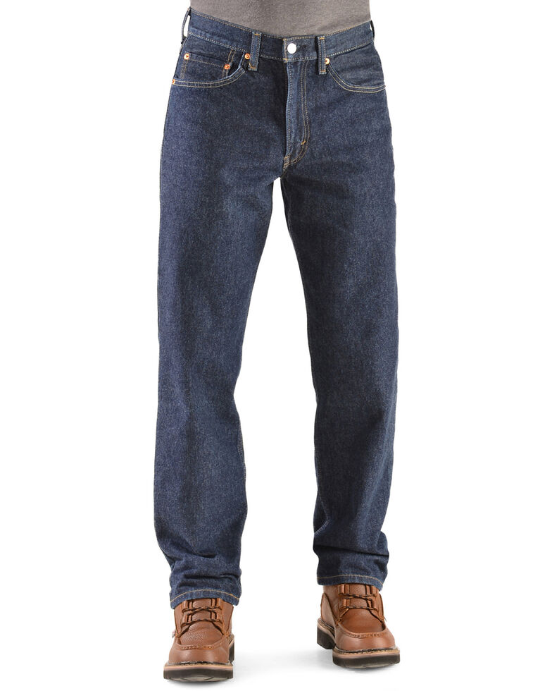 Levi's Men's 550 Prewashed Relaxed Tapered Leg Jeans , Rinsed, hi-res