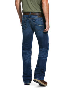 Ariat Men's Hatch Cling Med Stretch Stackable Slim Straight Jeans , Blue, hi-res