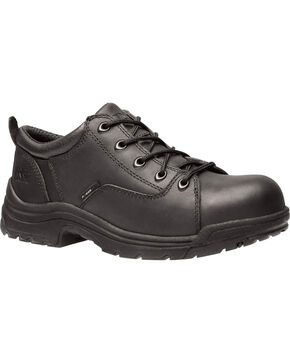 Timberland Women's Black PRO TITAN Work Shoes - Alloy Toe , Black, hi-res