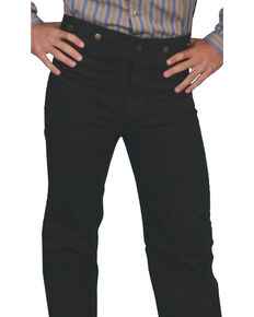 Rangewear by Scully Canvas Pants, Black, hi-res