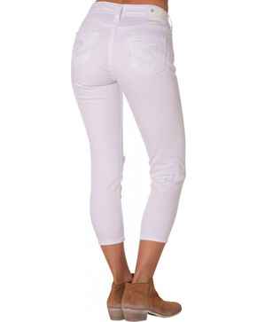 Silver Women's Suki High Capris, White, hi-res