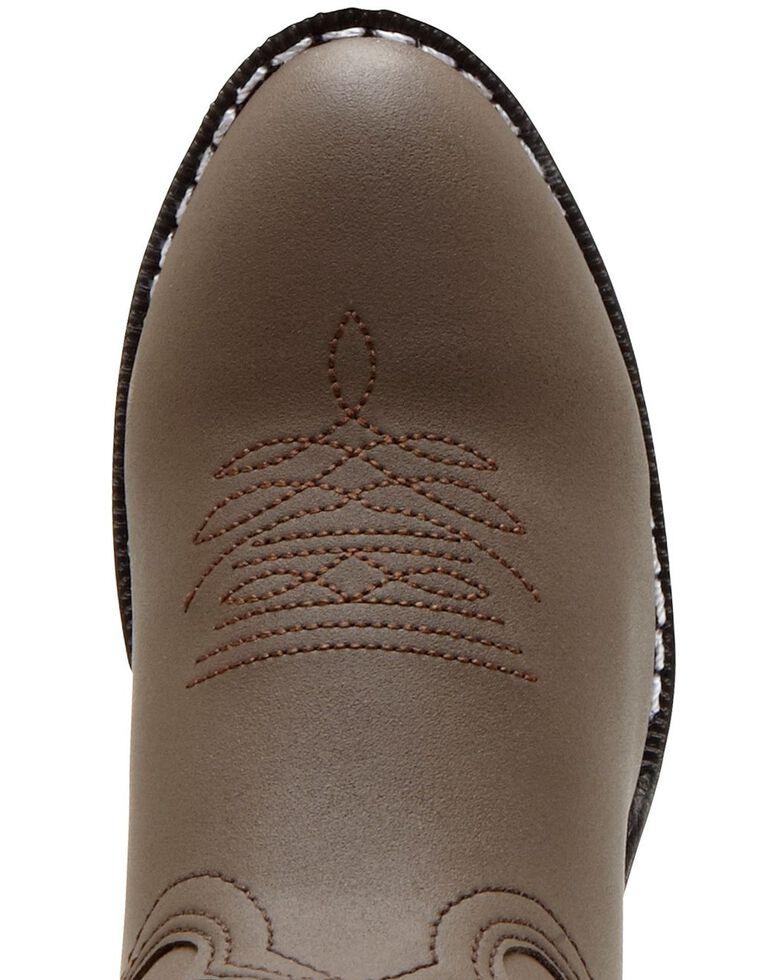 Durango Boys' Brown Cowboy Boots - Round Toe, , hi-res