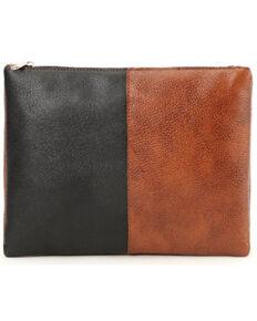 Prime Time Women's Faux Leather Pouch Bag, Black, hi-res