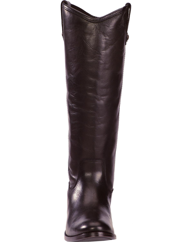 Melissa Button Riding Boots - Wide Calf