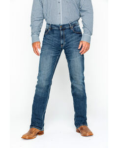 Wrangler Retro Layton Men's Slim Fit Jeans - Straight Leg , Denim, hi-res