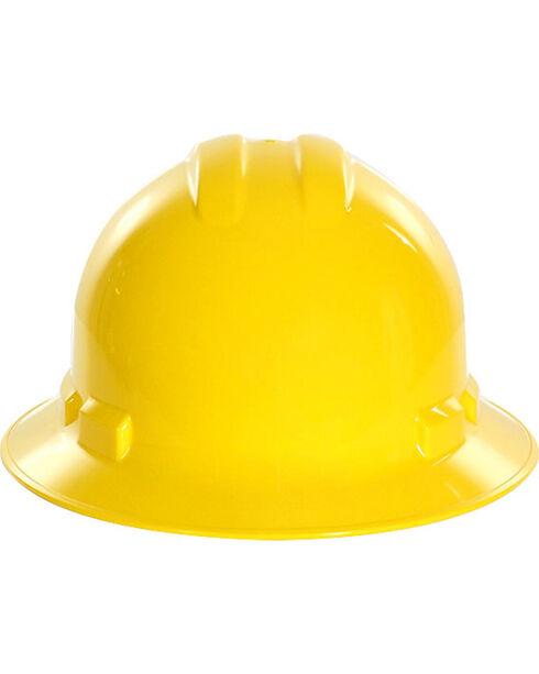 Radians Yellow Quartz Full Brim Hard Hats , Yellow, hi-res