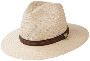 Peter Grimm Radcliff Flat Brim Hat, Natural, hi-res