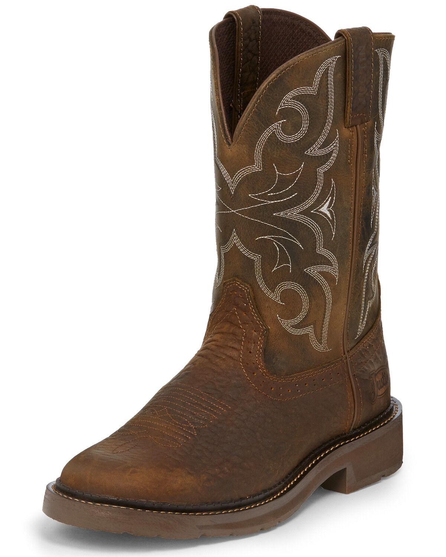 Amarillo Western Work Boots - Round Toe