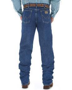 Wrangler Men's George Strait Cowboy Cut Western Jeans, Blue, hi-res