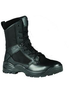 """5.11 Tactical Men's A.T.A.C 8"""" Side Zip Boots, Black, hi-res"""