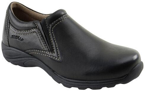Eastland Women's Black Liliana Slip-Ons , Black, hi-res