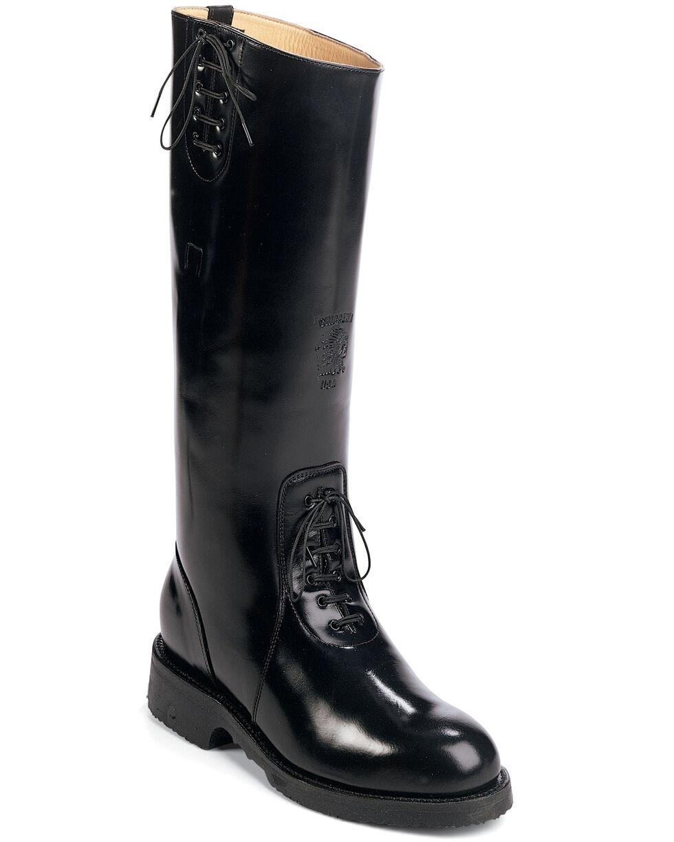 Chippewa Polished ScallaTrooper Boots - Round Toe, Black, hi-res