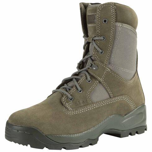 """5.11 Tactical Men's A.T.A.C. 8"""" Sage Boots, Sage, hi-res"""