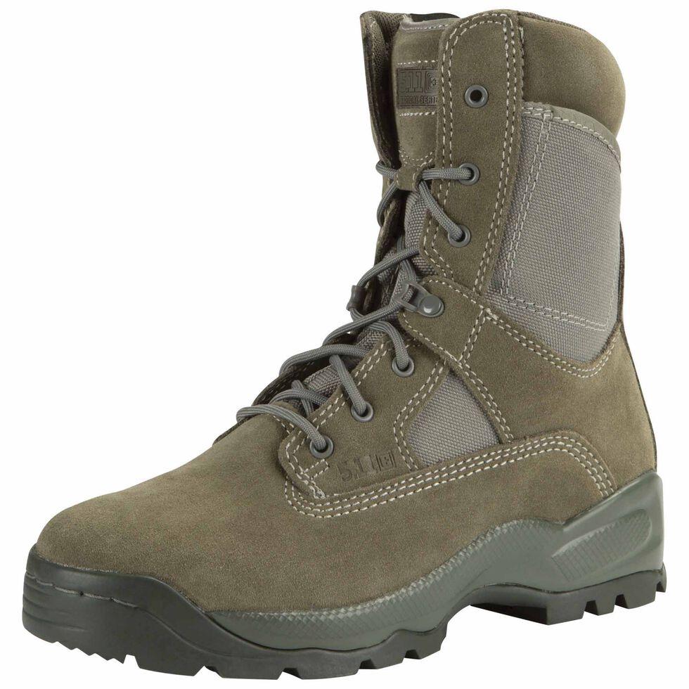 """5.11 Tactical Men's A.T.A.C. 8"""" Sage Boots, , hi-res"""