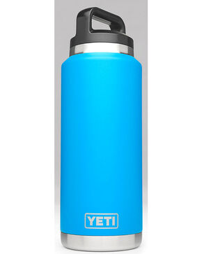 Yeti Tahoe Blue 36 oz. Bottle Rambler , Blue, hi-res