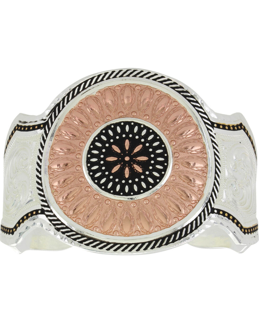 Montana Silversmiths Women's CrossCut Prairie Fire Cuff Bracelet, Multi, hi-res