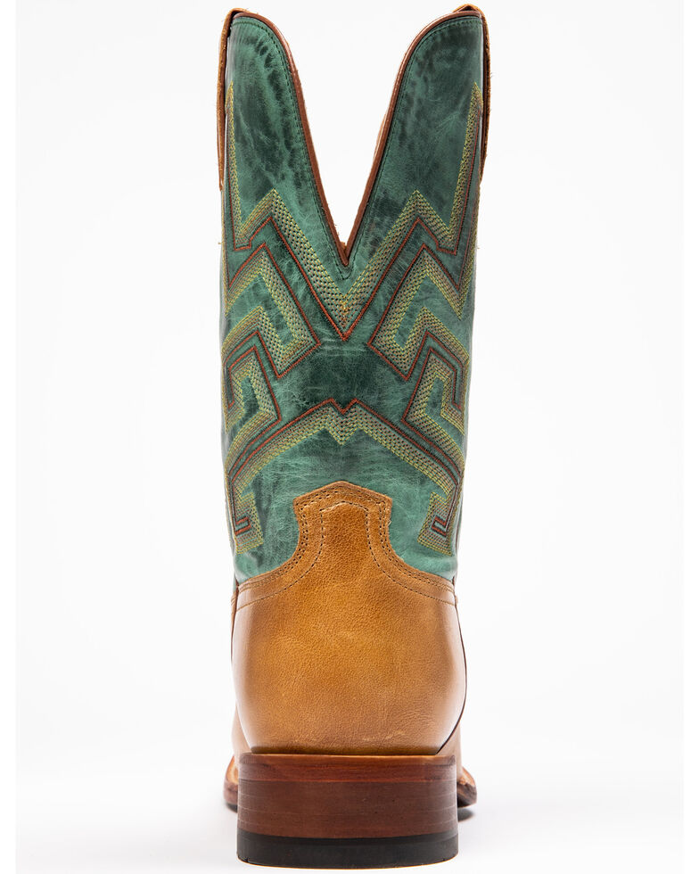 Cody James Men's Tan Chivalrous Western Boots - Narrow Square Toe, Green/brown, hi-res