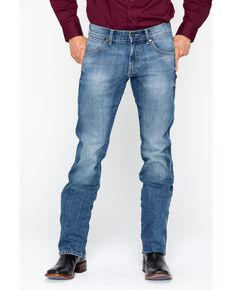 Wrangler Men's Slim Straight Aberdeen Jeans, Blue, hi-res