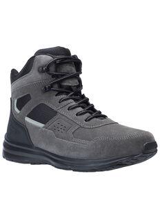 Bates Men's Raide Mid Work Boots - Soft Toe, Dark Grey, hi-res