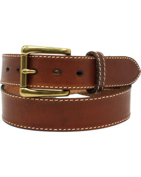 Nocona Men's Ocala Oil Tanned Leather Belt, Cognac, hi-res
