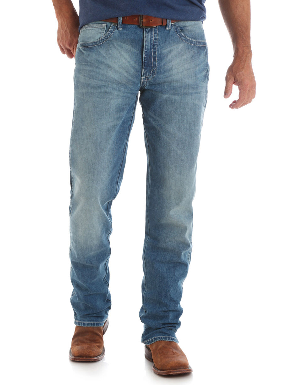 Wrangler Men's 20X No.44 Slim Fit Jeans - Straight Leg , Indigo, hi-res
