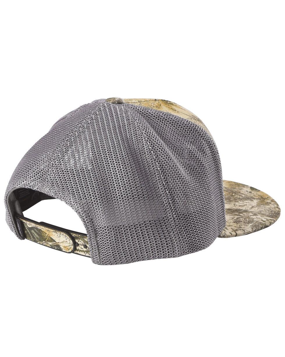 HOOey Men's Grey Camo Gameguard Trucker Cap , Grey, hi-res