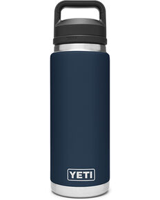 Yeti Rambler 26oz Navy Chug Bottle, Navy, hi-res