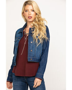 Idyllwind Women's Trucker Daze Denim Jacket, Blue, hi-res