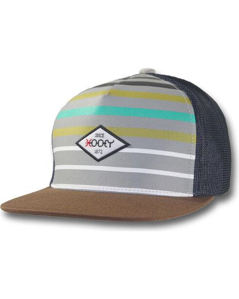 Hooey Men's Method Striped Trucker Cap, , hi-res