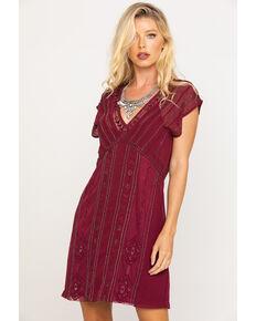 Idyllwind Women's Wine Shine N Sequin Dress, Wine, hi-res