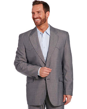 Circle S Men's Grey Houston Sportcoat - Tall, Grey, hi-res
