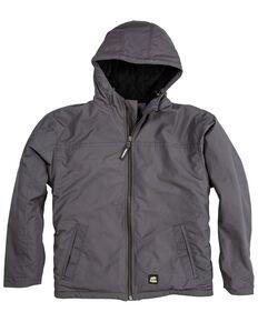 Berne Men's Slate Torque Ripstop Hooded Work Jacket - Big , Slate, hi-res