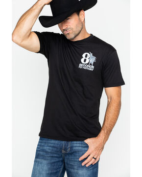 Cowboy Hardware Men's Victory Western T-Shirt , Black, hi-res
