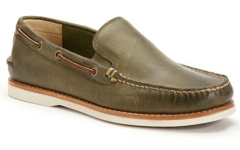 Frye Men's Sully Venetian Slip-on Shoes, Olive, hi-res