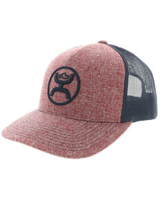new style f2d0f 5e9bd HOOey Mens Red O Classic Ball Cap , Red, hi-res