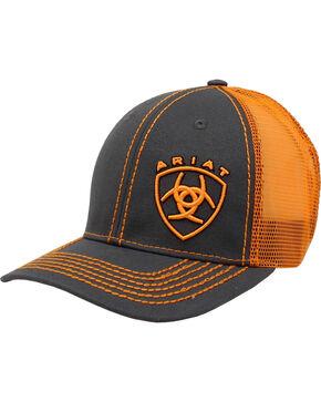 Ariat Men's Grey Baseball Cap , Grey, hi-res