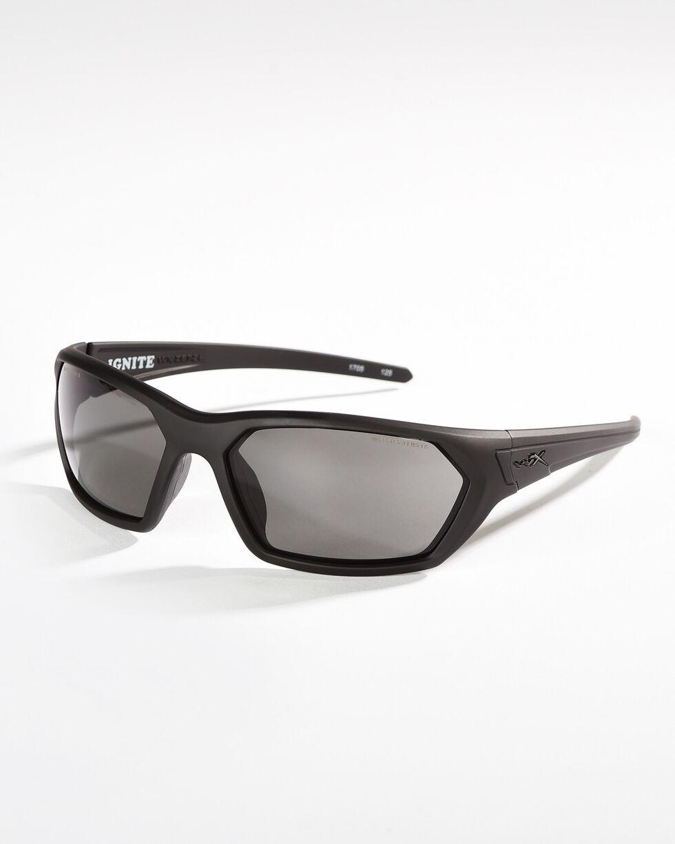 Wiley X Ignite Grey Lens Sunglasses , Black, hi-res
