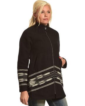 Pendleton Women's Black Swing Coat , Black, hi-res