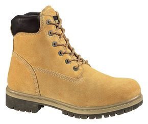 "Wolverine 6"" Waterproof Insulated Work Boots, Gold, hi-res"