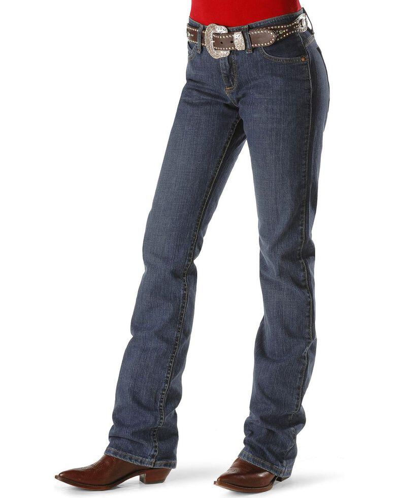 d50127fb Zoomed Image Wrangler Women's Tuff Buck Ultimate Riding Q-Baby Jeans , Tuff  Buck, hi-