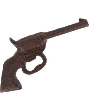 BB Ranch Cast Iron Pistol Bottle Opener, No Color, hi-res