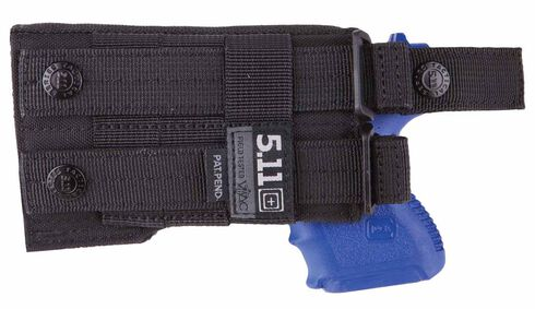 5.11 Tactical LBE Compact Holster (Right Hand), Black, hi-res