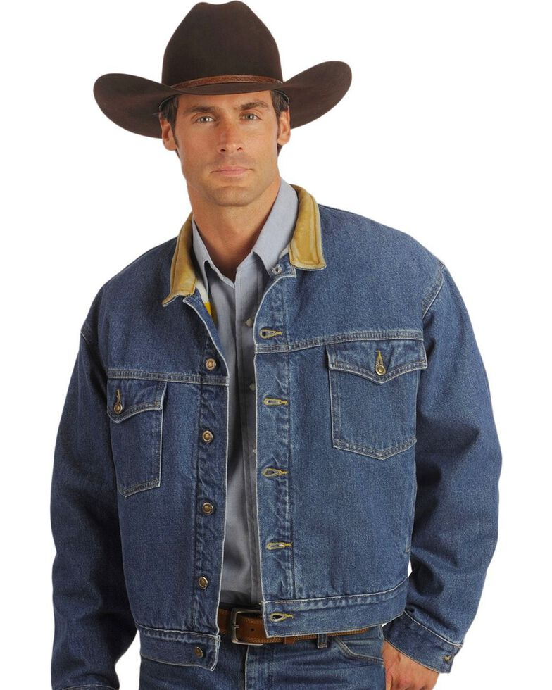 Schaefer Blanket Lined Legend Denim Jacket, Denim, hi-res