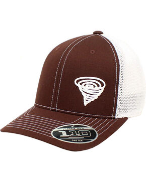Twister Men's Brown Rope Logo Baseball Cap , Brown, hi-res