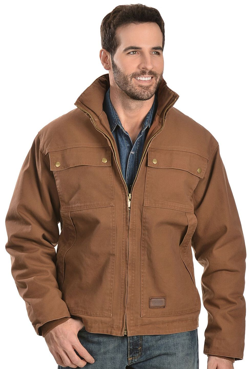 Exclusive Gibson Trading Co. Bonded Rancher Coat, Brown, hi-res