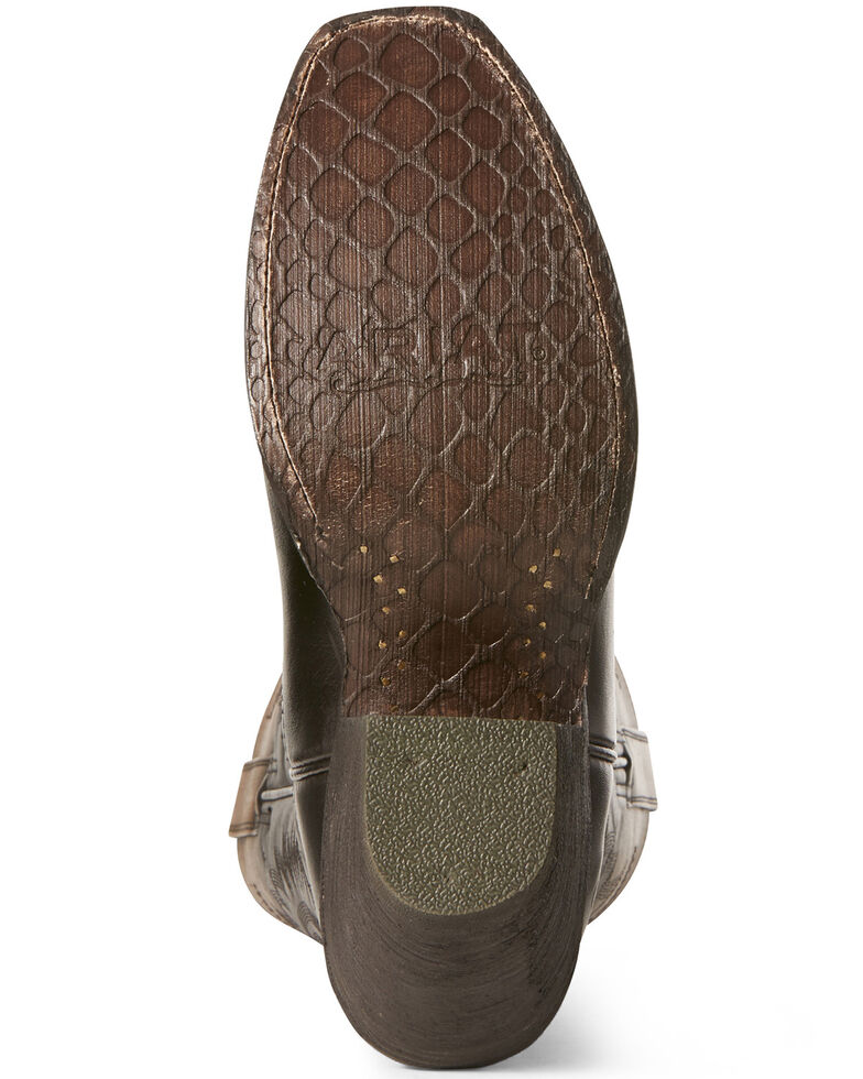 Ariat Women's Circuit Salem Western Boots - Square Toe, Chocolate, hi-res