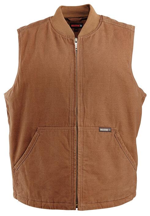 Wolverine Finley Vest, Brown, hi-res