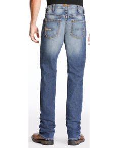 Ariat Men's Rebar M4 Edge Bootcut Work Jeans, Indigo, hi-res