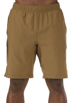 5.11 Tactical Men's Recon Performance Training Shorts, Brown, hi-res