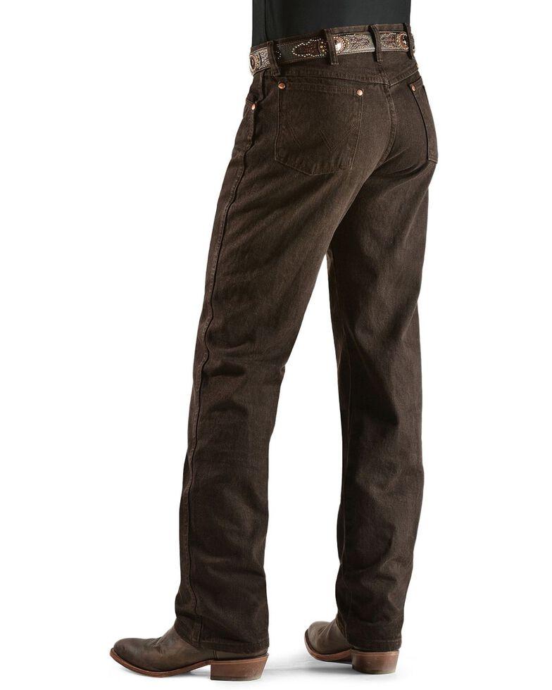 Wrangler 13MWZ Cowboy Cut Original Fit Jeans - Prewashed Colors, Chocolate, hi-res